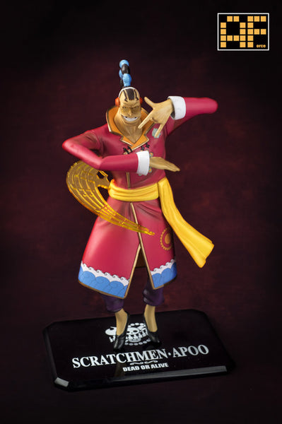 One Piece AForce E004 Scratchmen Apoo Resin Statue