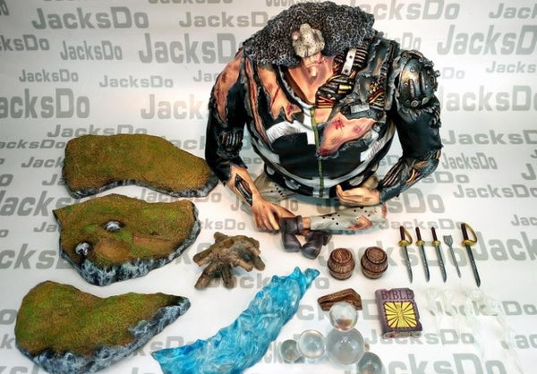 One Piece JacksDo PX-0 Bartholomew Kuma Damaged Version Resin Statue