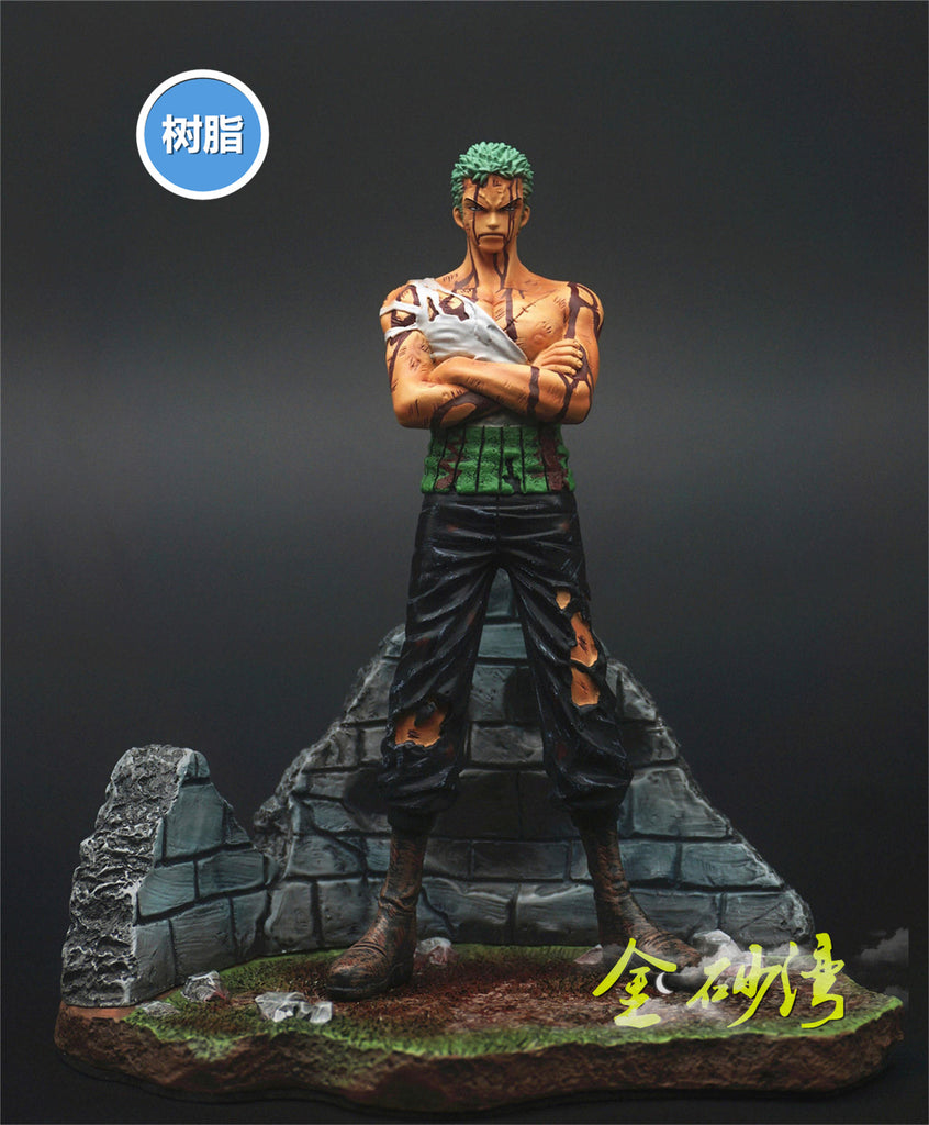 One Piece Zero Tribe Roronoa Zoro Resin Statue