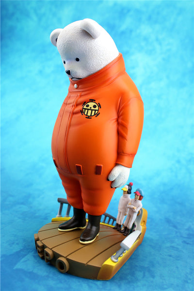 One Piece Zero Tribe Apologetic Bepo Resin Statue