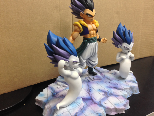 Dragon Ball Super Saiyan Gotenks Black Hair Ver. Resin Statue