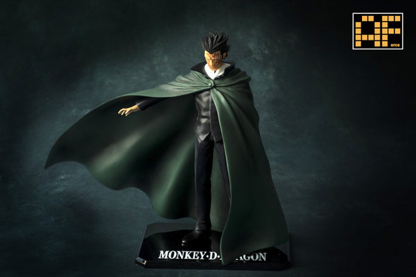 One Piece AForce E001.5 Monkey D. Dragon Resin Statue