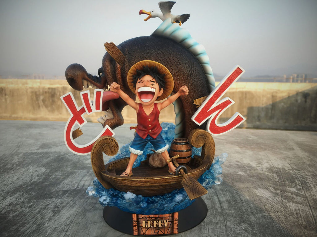 [PO] One Piece - THG Studio - First Appearance SD Series 003 Monkey D. Luffy Resin Statue