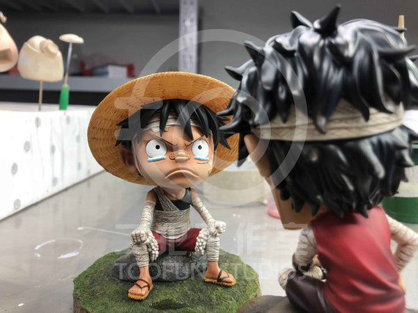 [Back Order] One Piece TOOFUN Studios TFUN003 SD Bandaged Childhood Portgas D. Ace Resin Statue