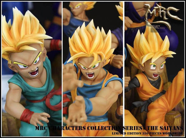Dragon Ball MRC Characters Collection Series The Saiyans Resin Statue