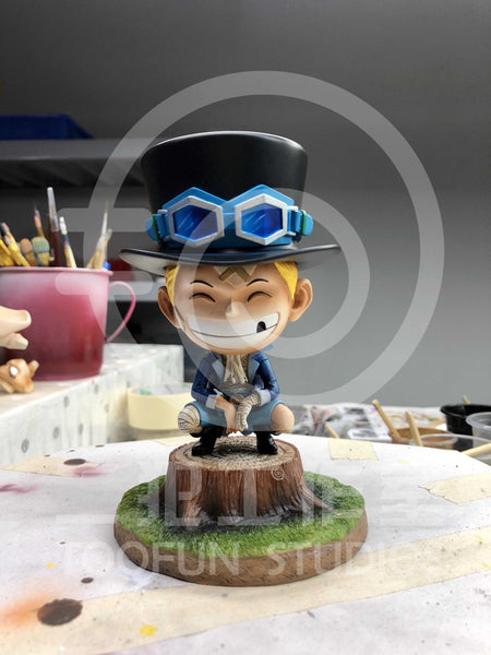[Back Order] One Piece - TooFun Studios - TFUN004 SD Bandaged Childhood Sabo Resin Statue