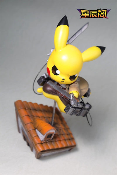 Pokemon Xing Chen Ge Cos Shingeki no Pikachu