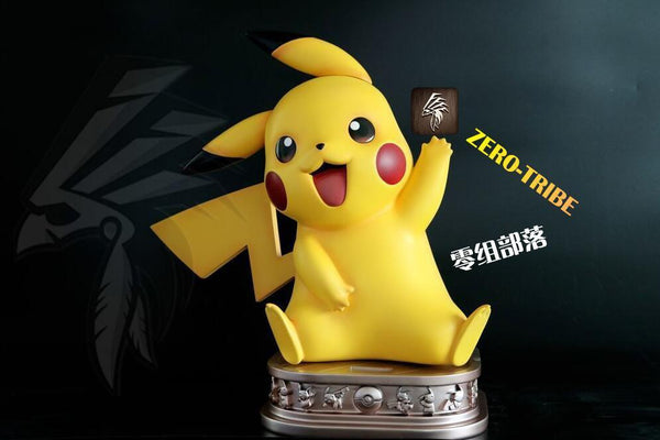Pokemon - Zero Tribe - RS03 1:1 Scale Pikachu 2.0 Resin Statue (Version B)