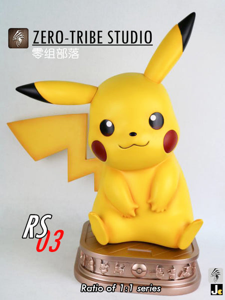 Pokemon - Zero Tribe - RS03 1:1 Scale Pikachu Ver 2.0 Resin Statue (Version A)
