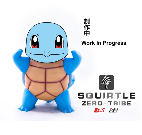 [PO] Pokemon - Zero Tribe - RS02 1:1 Scale Squirtle Resin Statue