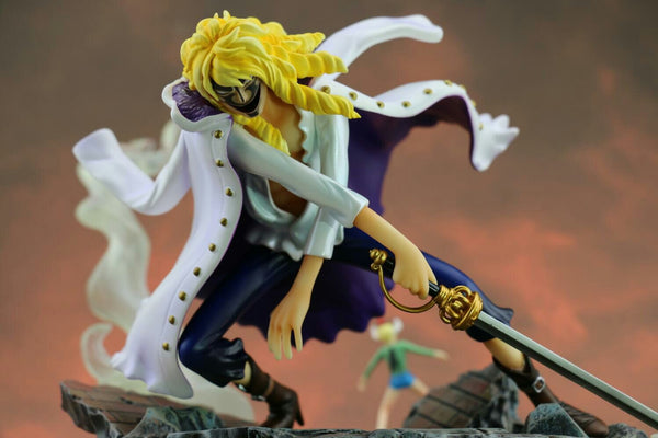 One Piece Zero Tribe Cavendish Alter Ego Hakuba Mode Resin Statue
