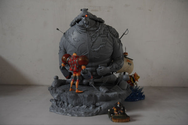 One Piece - Zhe Men - Bartholomew Kuma Damaged Version Resin Statue