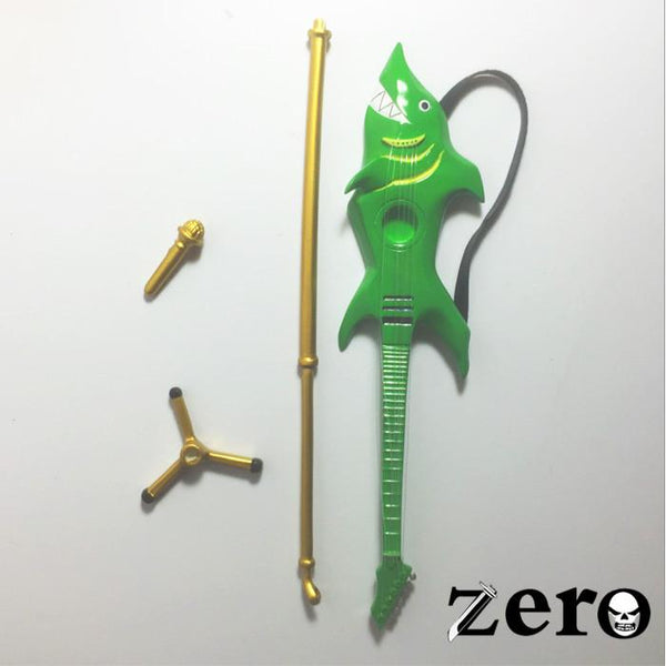One Piece Zero P.O.P Sailing Again Brook Guitar and Mic Set Accessory