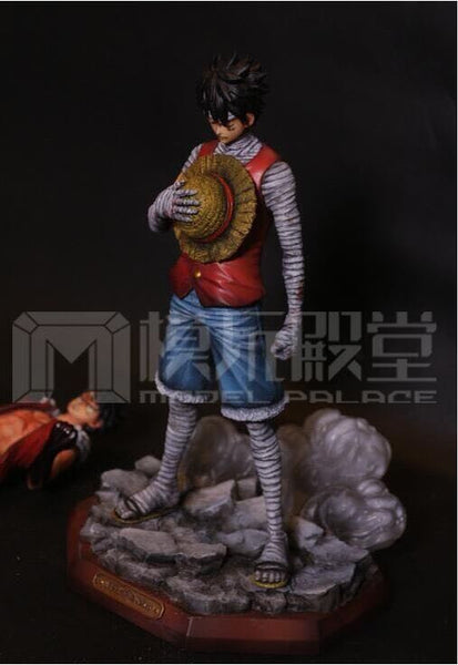 One Piece Model Palace 1st Anniversary Special Regular 3D2Y Monkey D. Luffy Resin Statue