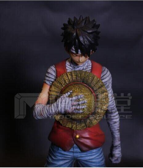 One Piece Model Palace 1st Anniversary Special Haki/3D2Y Monkey D. Luffy Resin Statue