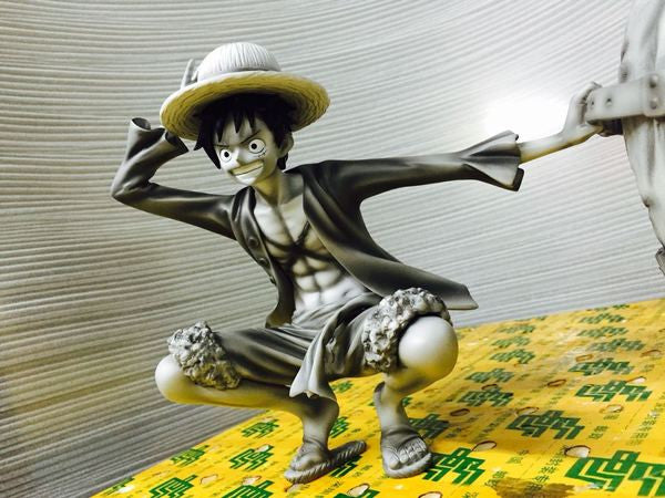 One Piece SOBAN工房 Sabaody Monkey D. Luffy Resin Statue