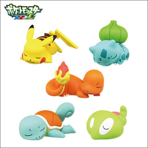 Pokemon Capsule Toys Oyasumi Friends Vol 3 (Set of 5)