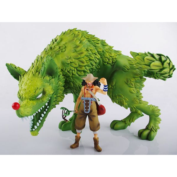 One Piece Toy Box Usopp Impact Wolf Resin Statue