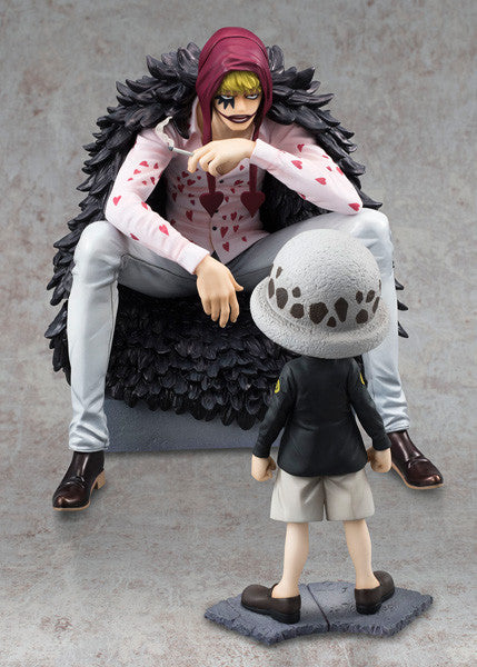 One Piece Megahouse P.O.P Limited Edition Corazon & Trafalgar Law