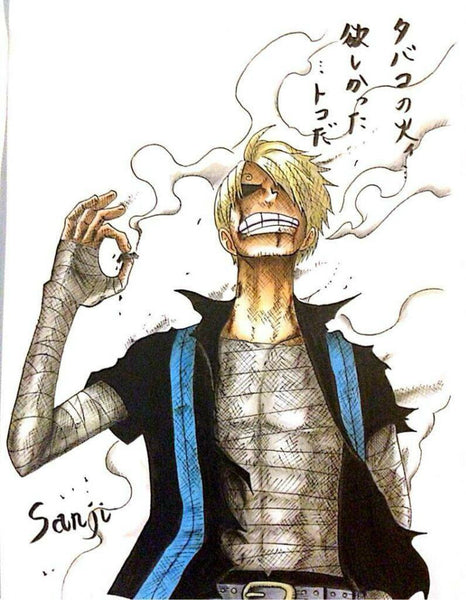 One Piece Model Palace DTJP-001 Skypiea Sanji Resin Statue