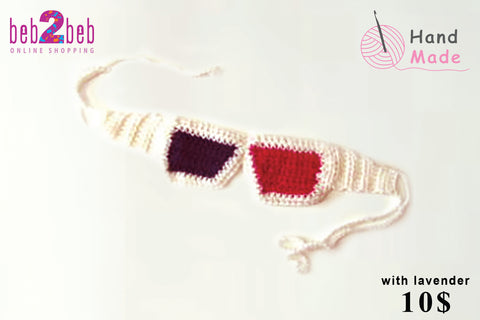 Crochet Eyeglass Shape