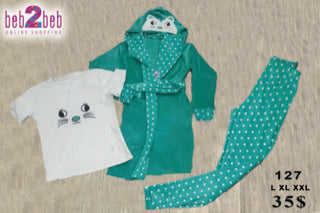 Set of Pajama with Dots