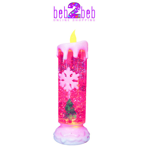 Glitter Electric Christmas Candles