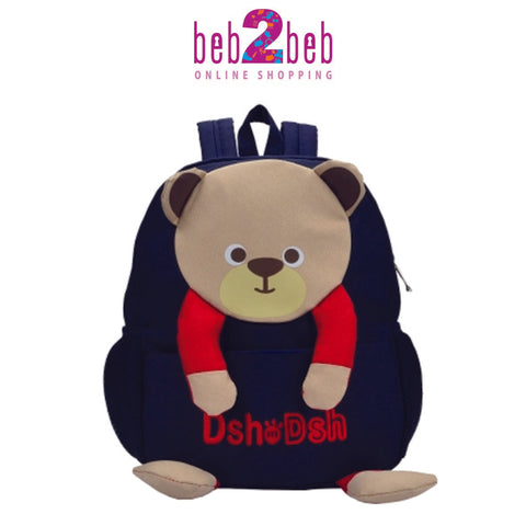 Cute Bear Back Bag
