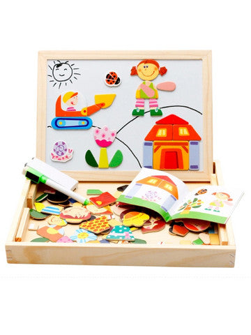 Kids Toy Wood Blocks Puzzles
