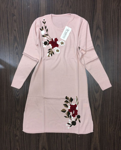 Blouse Designed Flowers