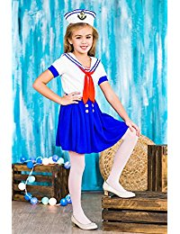 Lovely Girl Sailor Costume