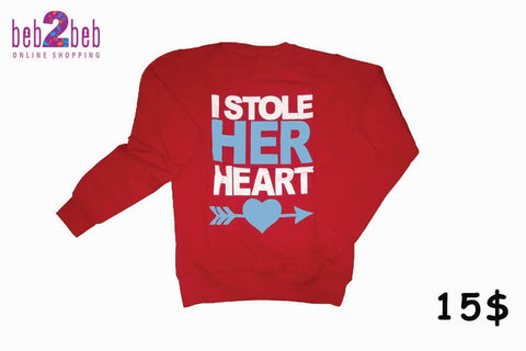 I Stole His/Her Heart T-shirt