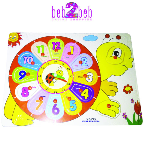 Learning Clock- Turtle