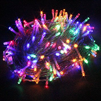 led christmas decoration light of 200 bulbs