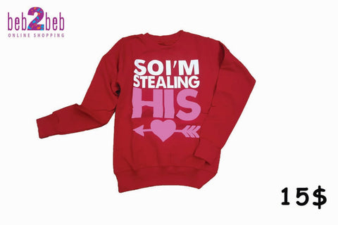 So I'm Stealing his/her Heart T-shirt