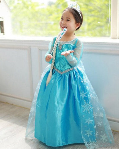 Frosted Princess Elsa Costume