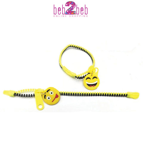 Bracelete Emoji with Zipper