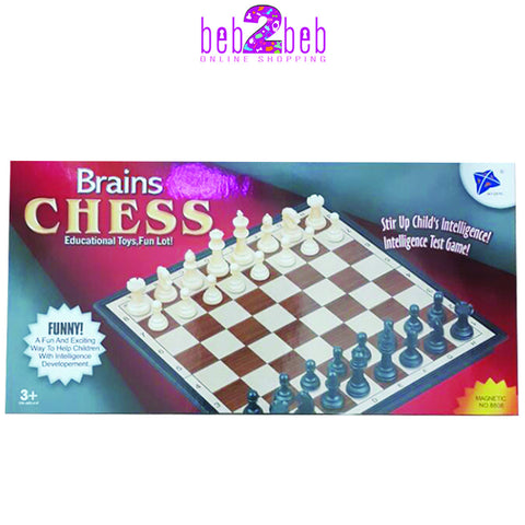 Brains Chess Game-Small