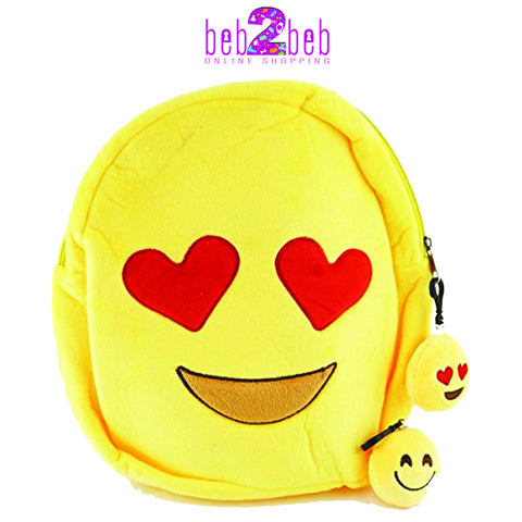 Emoji plush Backpacks