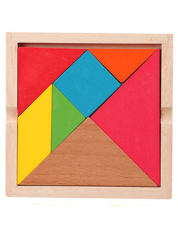 Wooden Enlightening Creative Tangram