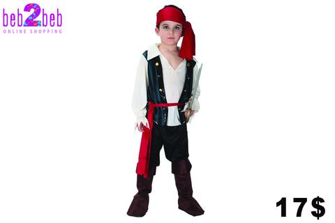 Little Pirate Costume