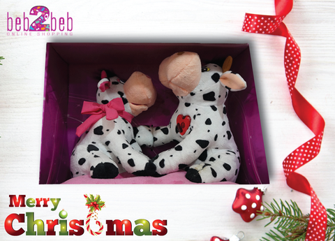 Lovely Plush Toy Cows