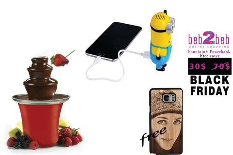 Offer Power bank with Fountain and Cover