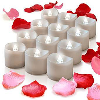 Flame-less LED Tealight Candles