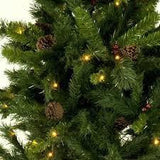 Christmas Tree with Pine cones-120cm