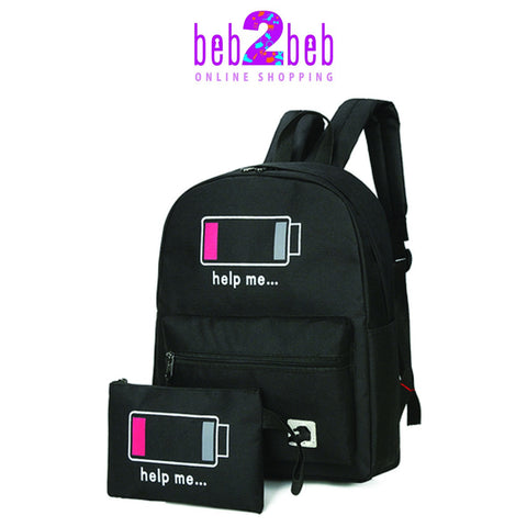 New Trend Battery Bag Set