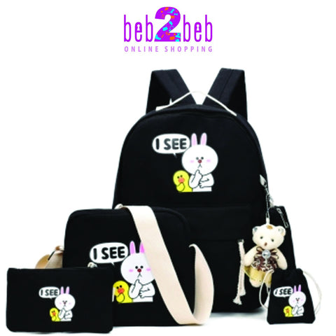 Cartoon Rabbits Bag