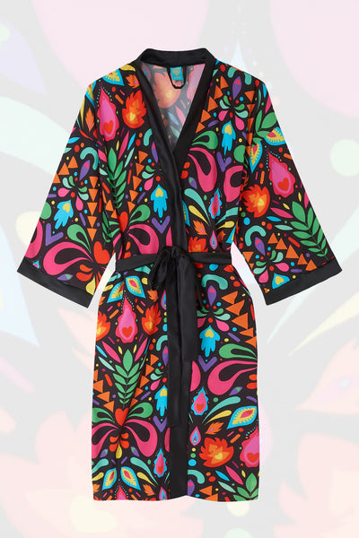 Femina Magicae Rainbow Black Robe