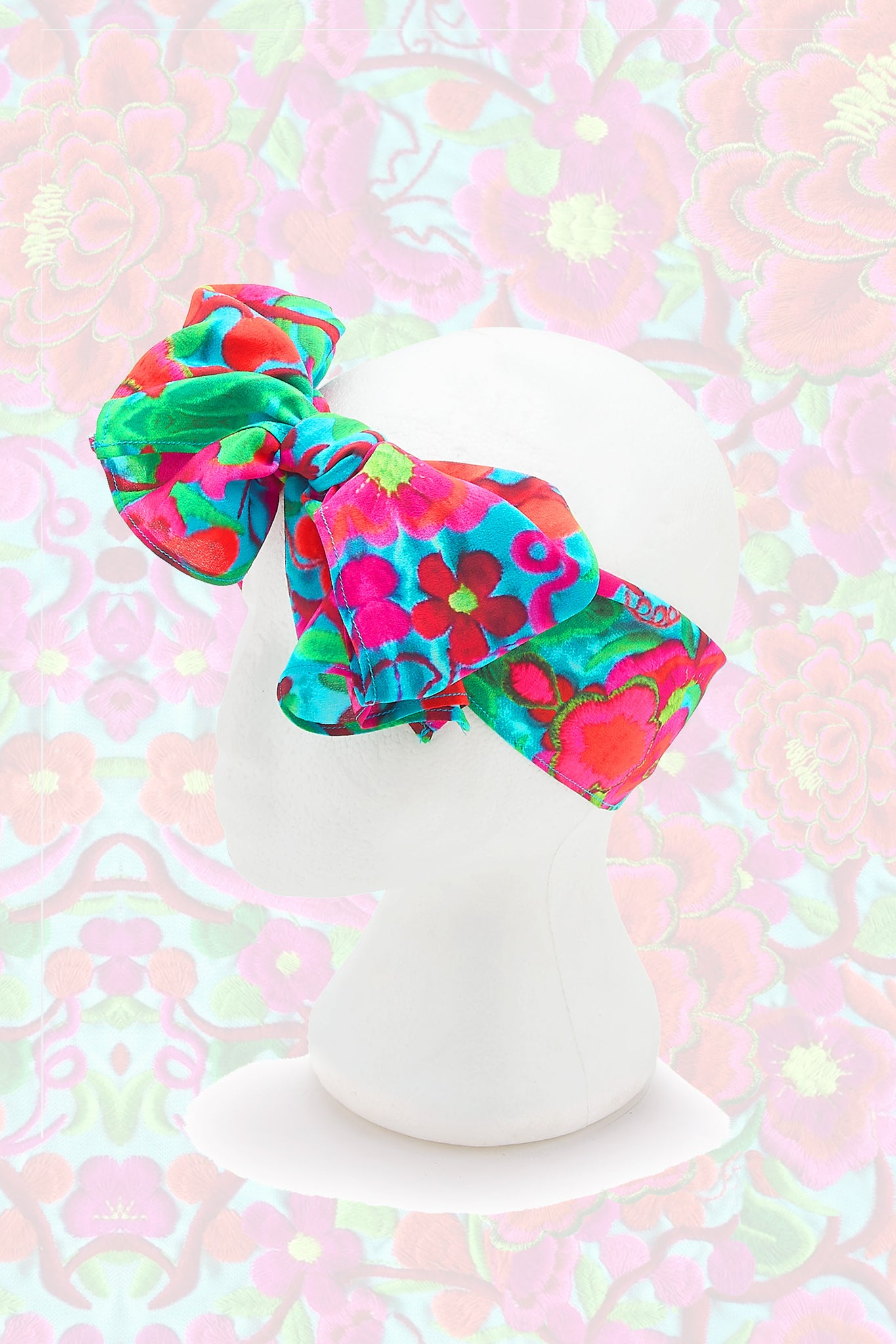 Folklorico Printed Headscarf