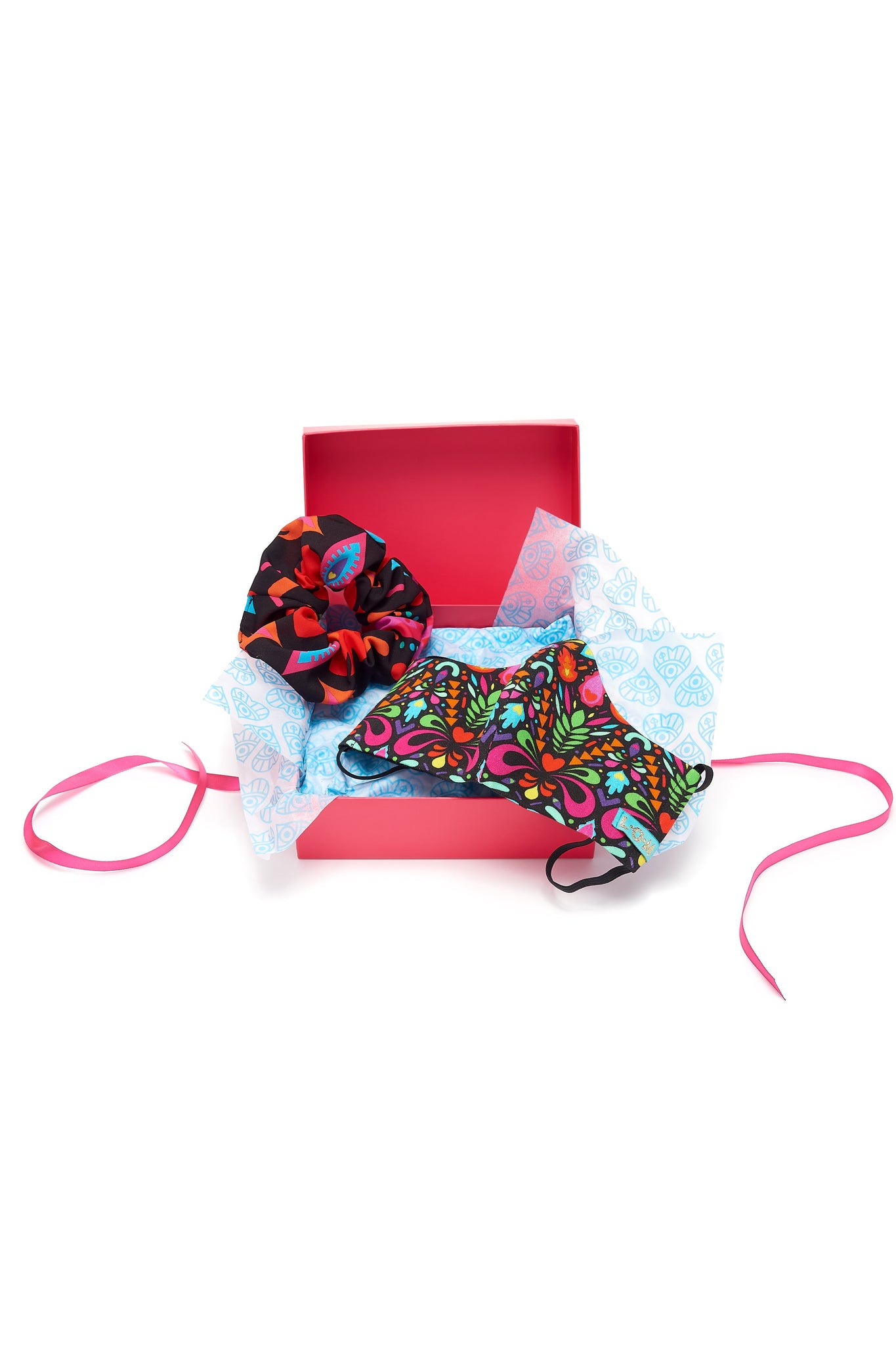 Face Mask and Scrunchie Gift Box